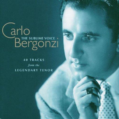 Carlo Bergonzi, couverture des 2Cds de DECCA