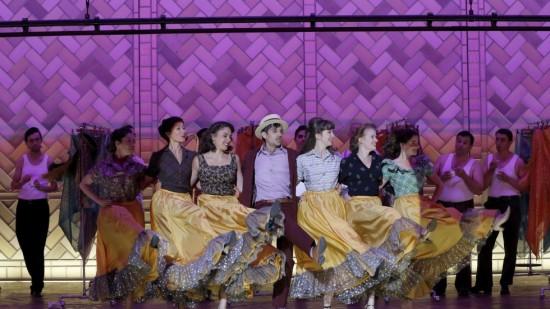 J'm voyais déjà...à Broadway, Juan Sancho dans Albazar © Patrick Berger/ArtcomArt