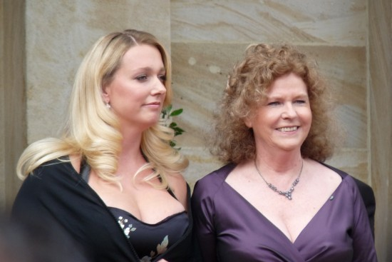 Katharina et Eva, pour la dernière fois ensemble en 2014  à la direction du Festival de Bayreuth