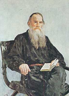 Léon Tolstoï, portrait par Repin