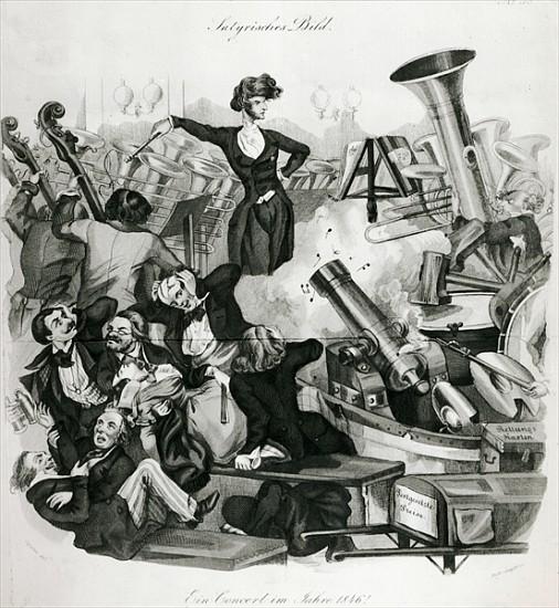Un concert d'Hector Berlioz (A.Geiger-1846)