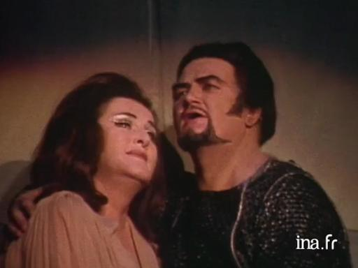 Birgit Nilsson et Jon Vickers à Orange (1973)