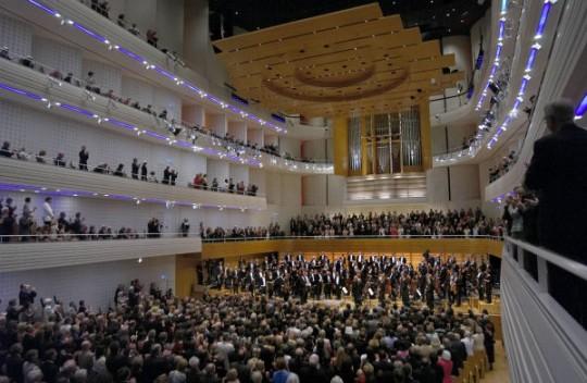Lucerne Festival, Eté 2005: Claudio Abbado et le Lucerne Festival Orchestra ©  Priska Ketterer Luzern