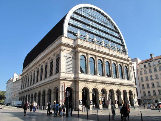 L'Opéra de Lyon (Arch. Jean Nouvel)